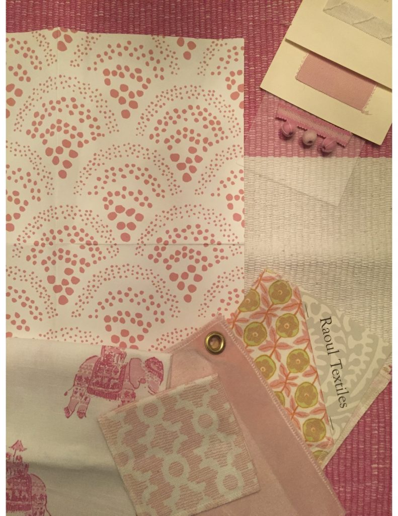 6 year old's room:pink