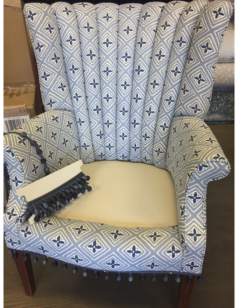 chair at workroom